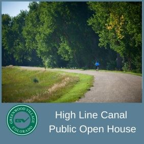 High Line Canal Public Open House