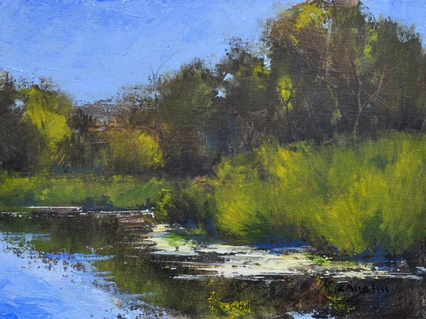 AAP12 - Landscape Painting in Oil and Pastels from Photographs
