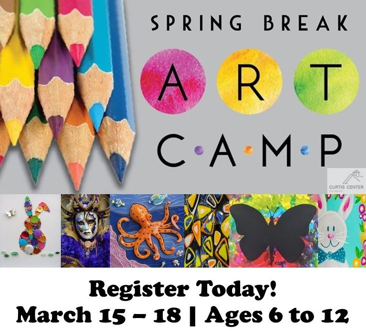 Spring Break Art Camp Register Today
